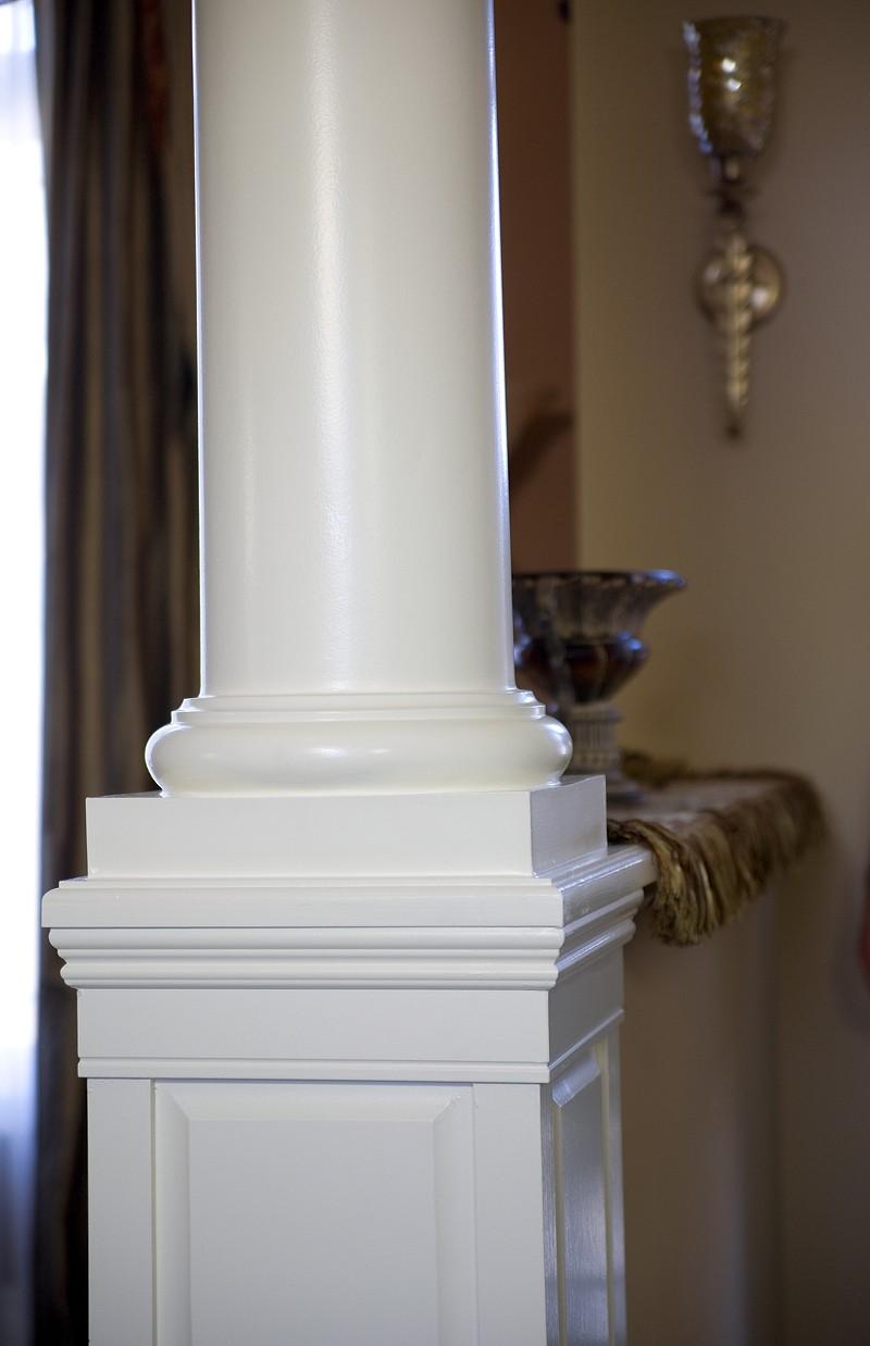 Interior Columns Round Vs Square My Cms