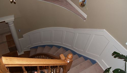 Installing Recessed Panelled Wainscoting