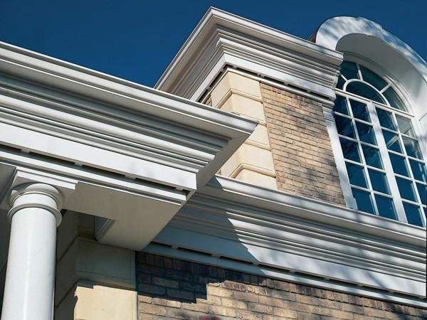 Architectural Dentil Trim : Cellular pvc moldings versatex trimboard