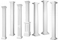 exterior columns architectural structural columns On permacast columns