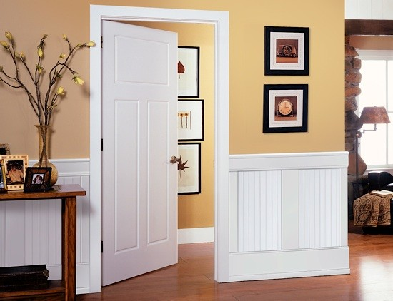 Beadboard paneling wainscoting kit i elite trimworks Paredes con friso