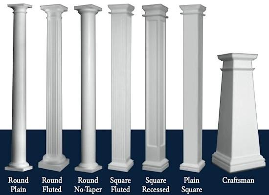 hb g permacast columns composite columns. Black Bedroom Furniture Sets. Home Design Ideas