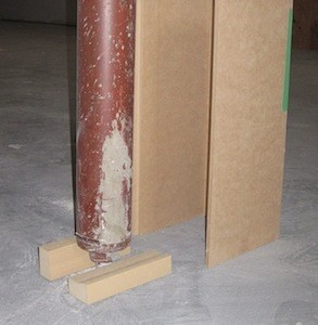 Basement Pole Wraps Jack Post Amp Lally Column Covers