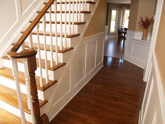More  Wainscoting Stairs