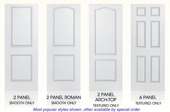 Moulded Hollow Core Doors From Masonite Or Jeld Wen
