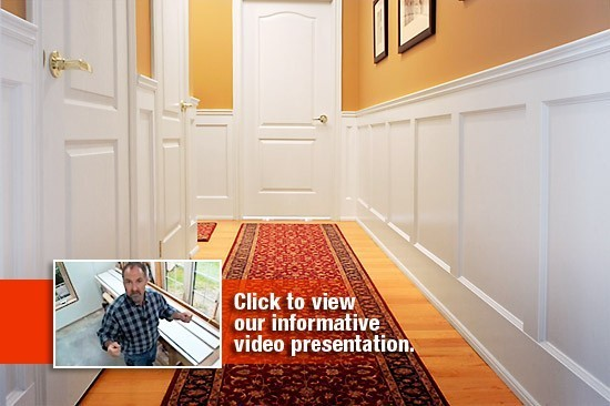 Recessed Paneled Wainscoting Elite Trimworks